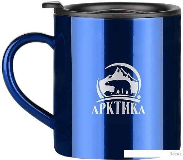 Термокружка Арктика 802-200 0.2л (синий)