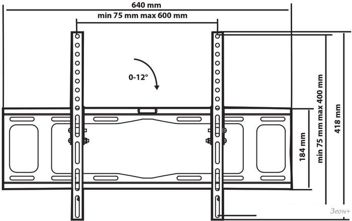 Кронштейн Tuarex OLIMP-112