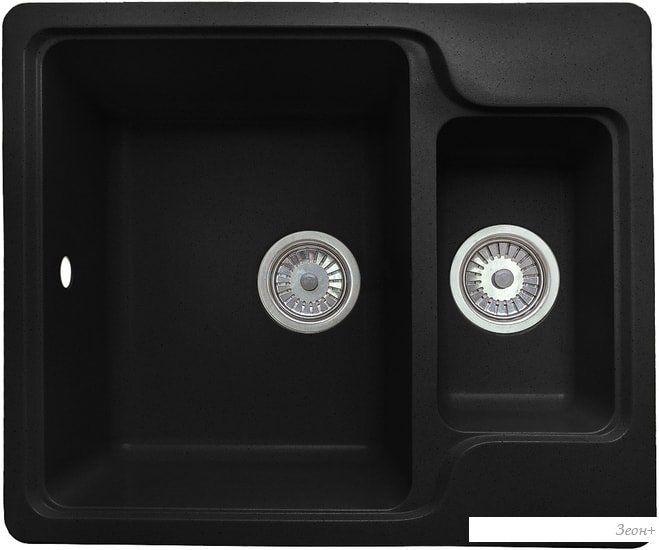 Кухонная мойка Granicom G011 (антрацит)