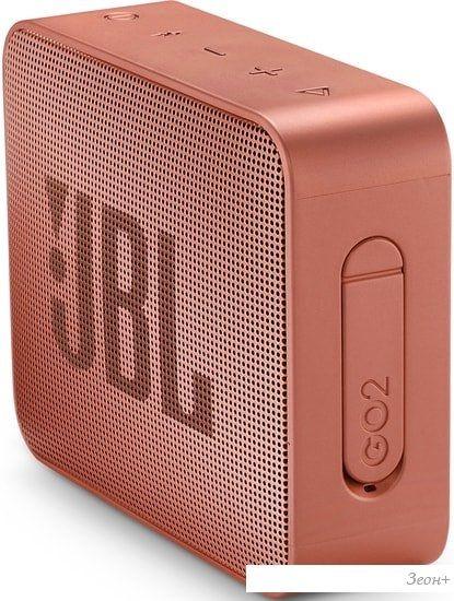 Беспроводная колонка JBL Go 2 (коричневый)