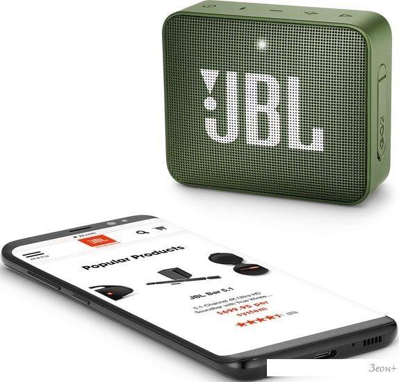 Беспроводная колонка JBL Go 2 (зеленый)