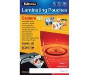 Пленка для ламинирования Fellowes Glossy Polyester Pouches 86x54 мм, 125 мкм, 100 л