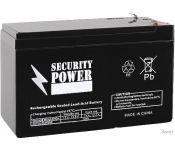 Аккумулятор для ИБП Security Power SP 12-1,3 F1 (12В/1.3 А·ч)