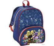 Рюкзак Hama Monsters детский рюкзак (синий/красный)