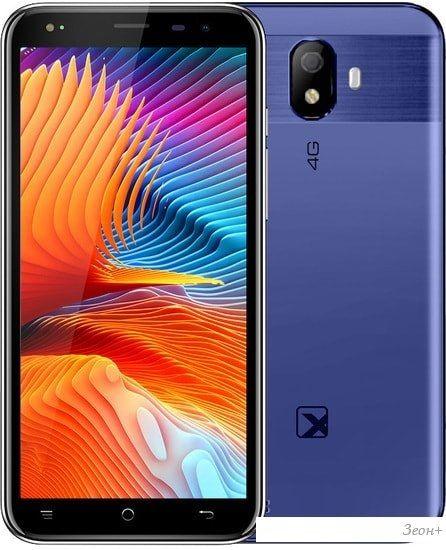 Смартфон TeXet TM-5076 (синий)