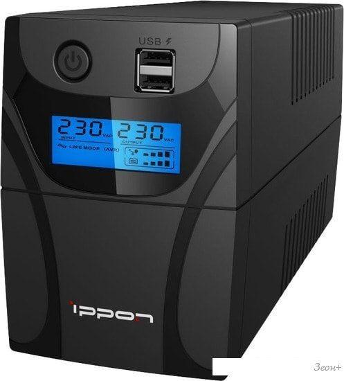 Источник бесперебойного питания IPPON Back Power Pro II 400