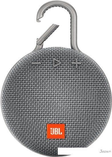 Беспроводная колонка JBL Clip 3 (серый)