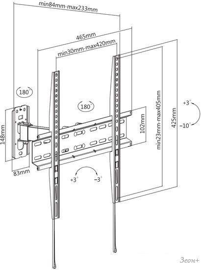Кронштейн Ultramounts UM878
