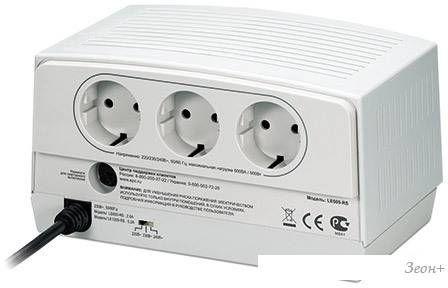 Стабилизатор напряжения APC Line-R 600 VA (LE600-RS)