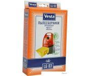 Комплект одноразовых мешков Vesta Filter LG 03