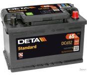 Автомобильный аккумулятор DETA Standard DC652 (65 А·ч)