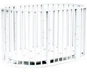 Детская кроватка Bambini М.01.10.14 (белый)