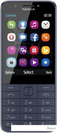 Мобильный телефон Nokia 230 Dual SIM (синий)