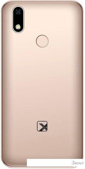 Смартфон TeXet TM-5081 (золотистый)