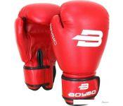 Перчатки для единоборств BoyBo Basic 10 OZ (красный)