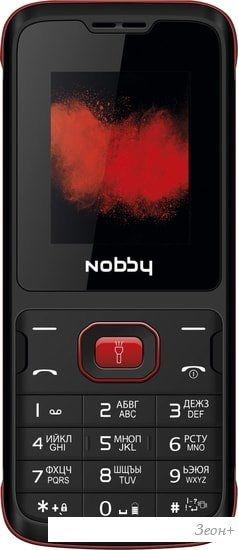 Мобильный телефон Nobby 110 (черный/красный)