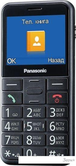 Мобильный телефон Panasonic KX-TU150RU (черный)