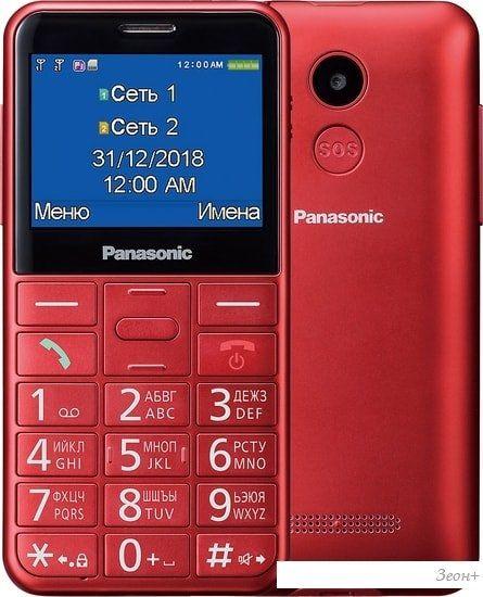 Мобильный телефон Panasonic KX-TU150RU (красный)