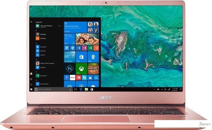 Ноутбук Acer Swift 3 SF314-56G-50S6 NX.H4ZER.002