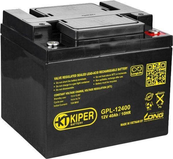 Аккумулятор для ИБП Kiper GPL-12400 (12В/40 А·ч)