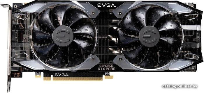 Видеокарта EVGA GeForce RTX 2080 XC Gaming 8GB GDDR6 08G-P4-2182-KR