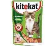 Корм для кошек Kitekat Кролик в желе 0.085 кг