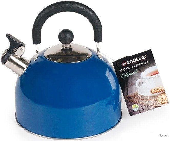 Чайник со свистком Endever Aquarelle-301