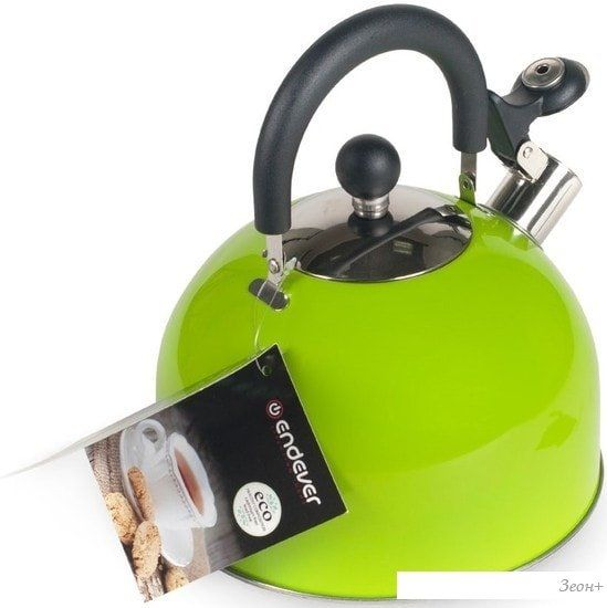 Чайник со свистком Endever Aquarelle-303