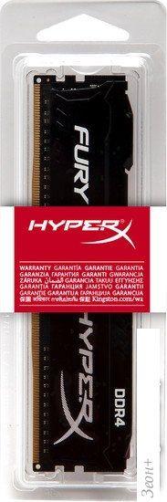 Оперативная память HyperX Fury 4GB DDR4 PC4-23400 HX429C17FB/4