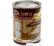 Эмаль Dekor для пола (светлый орех, 0.8 кг)