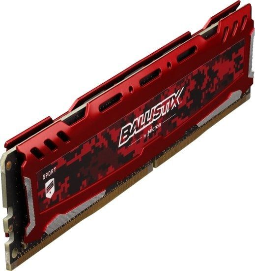 Оперативная память Crucial Ballistix Sport LT 2x8GB DDR4 PC4-21300 BLS2K8G4D26BFSEK