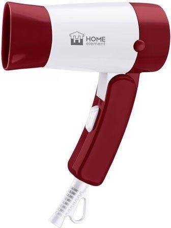 Фен Home Element HE-HD317 (бордовый гранат)