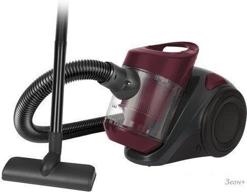 Пылесос Home Element HE-VC-1808 New (бордовый гранат)