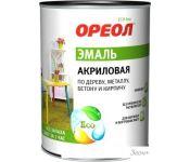 Эмаль Ореол акриловая глянцевая (ярко-зеленый, 0.9 кг)
