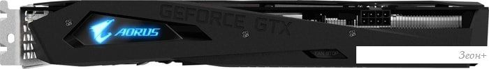 Видеокарта Gigabyte AORUS GeForce GTX 1660 Ti 6GB GDDR6 GV-N166TAORUS-6GD