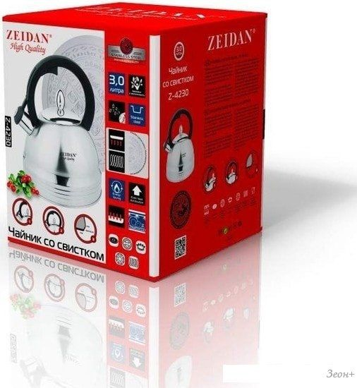 Чайник со свистком ZEIDAN Z-4230