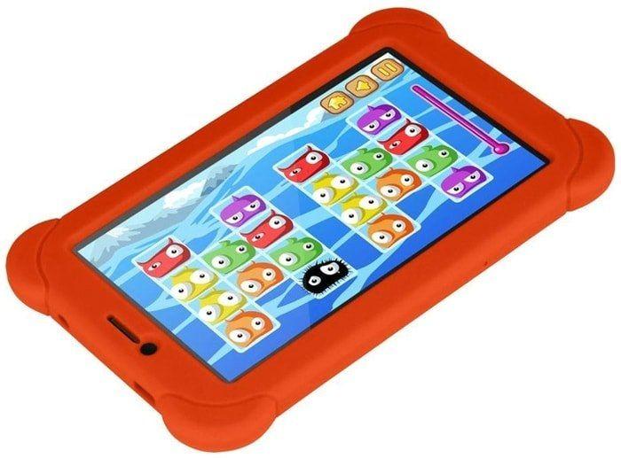 Планшет Digma Plane 7556 PS7170MG 16GB 3G + чехол (оранжевый)