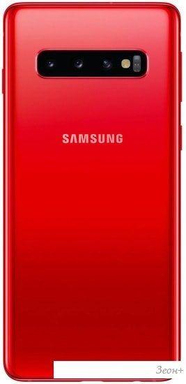 Смартфон Samsung Galaxy S10 G973 8GB/128GB Dual SIM Exynos 9820 (гранат)