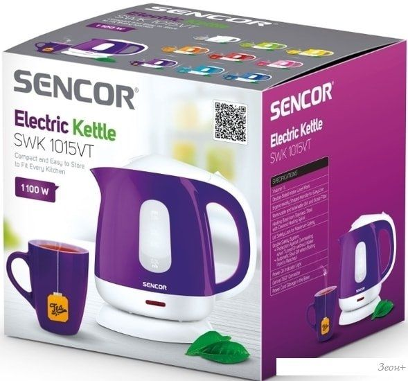 Электрочайник Sencor SWK 1015VT