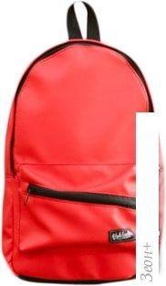 Рюкзак Vokladki Красный. Кожа лайт