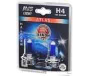 Галогенная лампа AVS Atlas H4 2шт