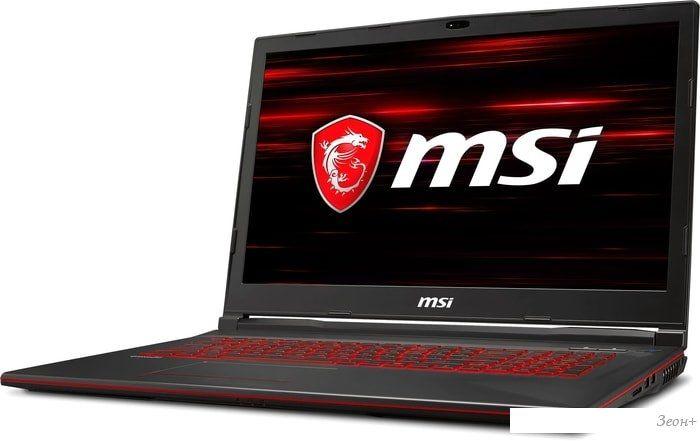 Ноутбук MSI GL73 8SDK-296XRU