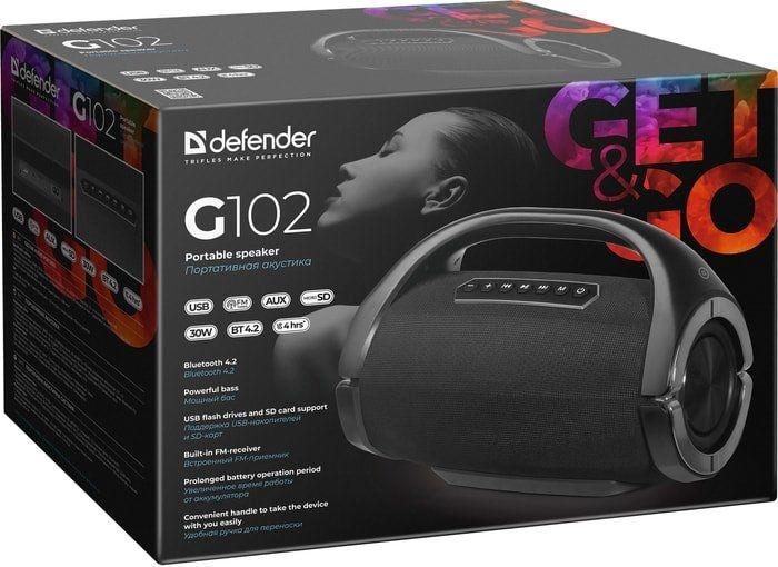 Беспроводная колонка Defender G102