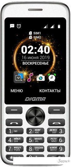Мобильный телефон Digma Linx C280 (черный)