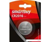 Батарейки SmartBuy Lithium CR2016 SBBL-2016-1B