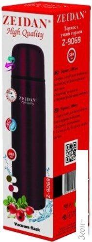 Термос ZEIDAN Z-9069 0.5л (красный)