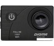 Экшен-камера Digma DiCam 235 (черный)