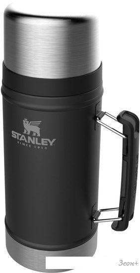 Термос для еды Stanley Classic 0.94л 10-07937-004 (черный)