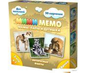 Настольная игра Нескучные игры Ми-Ми-Мемо Африка 8049