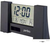 Радиочасы Perfeo City PF-S2056 (черный)